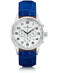 Kennett Watches | Savro Silver Royal Blue Modern | Lyst