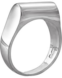 Edge Only - High Top Ring Silver - Lyst