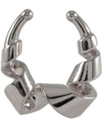 MARIE JUNE Jewelry - Loopty Loop Silver Septum Ring - Lyst