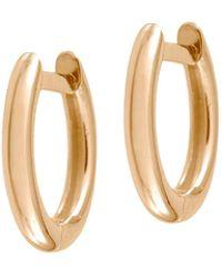 Jezebel London - Plain Millennium Hoop Earrings - Lyst