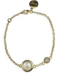Vintouch Italy - Satellite Gold Vermeil Moonstone & Opal Bracelet - Lyst