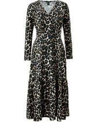 Baukjen - Abigail Dress In Leopard Print - Lyst