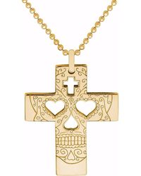 CarterGore - Gold Hamsa Hand Pendant Necklace - Lyst