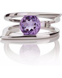 Manja | Romance Amethyst Ring | Lyst