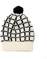 Margot & Me - Knit Hat Lucy In Nature - Lyst