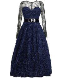 MATSOUR'I - Cocktail Dress Sylke Blue - Lyst