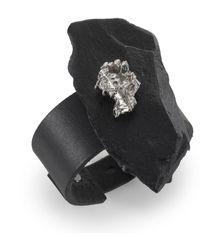 Noritamy - Black & Silver Bracelet - Lyst