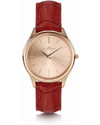 Kennett Watches - Kensington Lady Rose Gold Red - Lyst