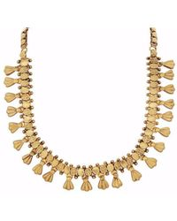 Carousel Jewels - Antique Intricate Necklace - Lyst