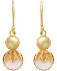 Carousel Jewels - Delicate Mother Of Pearl Drops - Lyst