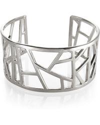 Ona Chan Jewelry - Lattice Cuff Med - Lyst