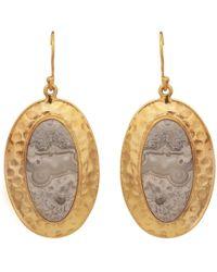Carousel Jewels - Jasper Antique Earrings - Lyst