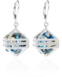 Sally Lane Jewellery - Beauty Within Silver Earrings - Lyst