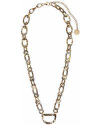 RASSIN & SHEN - Original D Eyewear Necklace N°1 Tiger Onyx - Lyst