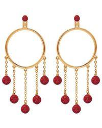 Eshvi - Pair Earrings - Lyst