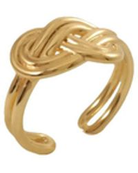 MARIE JUNE Jewelry - Figure 8 Knot Gold Ring - Lyst