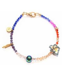 Miss High & Low - Stay Cool Swarovski Crystal Bracelet - Lyst