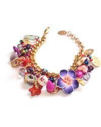 Miss High & Low - Autumn Party Bracelet - Lyst