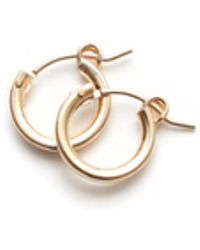 Amundsen Jewellery - Gold Hoops - Lyst