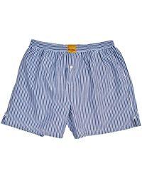 KLOTERS MILANO - White Mini Striped Boxer Shorts - Lyst