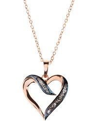 Latelita London Diamond Oval Pink Tourmaline Necklace mASyq