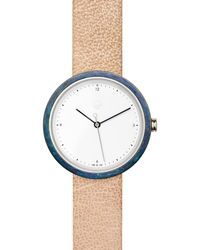 Flint Watches - Blue Patina Sandstone Strap Mens - Lyst