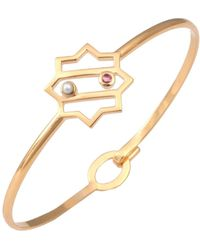 Leivan Kash - Kimia Star Bangle Gold - Lyst