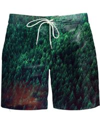 Aloha From Deer - Forest Board Shorts - Lyst