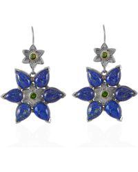 Emma Chapman Jewels - Bellatrix Lapis Lazuli Earrings - Lyst