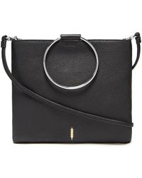 Thacker NYC - Le Pouch In Black And Silver - Lyst