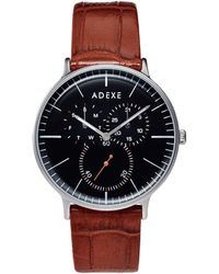 ADEXE Watches - They Grande Silver & Light Brown - Lyst