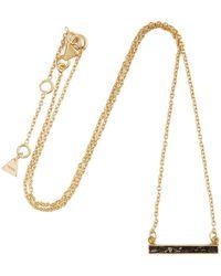Yucama - Crushed Black Diamond Necklace - Lyst