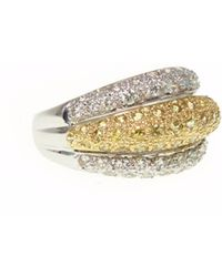 Ri Noor - Yellow Sapphire & Diamond Ring - Lyst