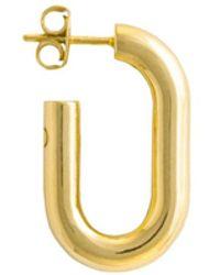 Glenda López - The Medium Golden Link Earring - Lyst