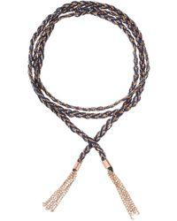 GFG Jewellery by Nilufer - Linda Bracelet/necklace Navy - Lyst