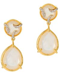 Alexandra Alberta - Yosemite Pearl Earrings - Lyst