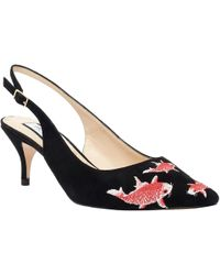 Lucy Choi - Rosehip Black Suede - Lyst