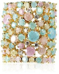 Cielle - Spring Snow Statement Cocktail Ring - Lyst