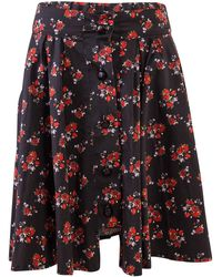 A - M M - E - Riding Skirt In Sicilian Floral - Lyst