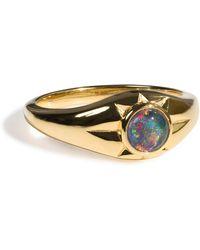Aletheia & Phos - Gold & Opal - Lyst