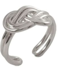 MARIE JUNE Jewelry - Figure 8 Knot Silver Ring - Lyst