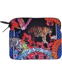 Jessica Russell Flint - Ipad Case In Tiger Tales Design - Lyst