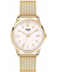 Henry London - Ladies 39mm Westminster Stainless Steel Bracelet Watch - Lyst