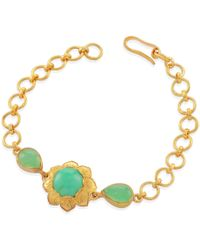 Emma Chapman Jewels | Isa Chrysoprase Bracelet | Lyst