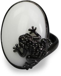 Bellus Domina - The Prince Frog Cocktail Ring - Lyst