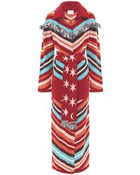 Hayley Menzies - Sunset Stripe Long Cardi In Multi - Lyst
