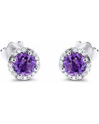 Cosanuova - Drop Earrings 14k White Gold - Lyst
