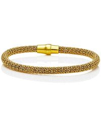 Durrah Jewelry - Gold Spring Bracelet - Lyst