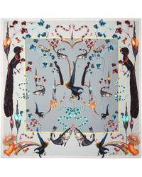 Klements | Rainbow Trout Square Scarf | Lyst