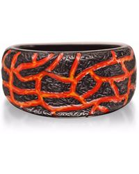 LMJ - Rivers Of Fire Band Ring - Lyst